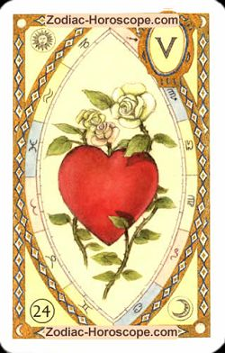 The heart, monthly Love and Health horoscope April Pisces