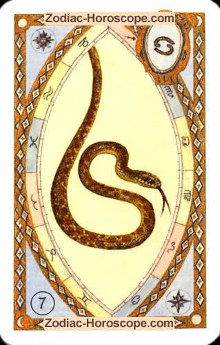 The snake Single love horoscope