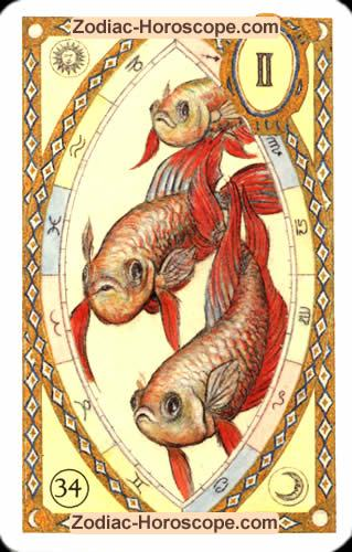 The fish Partnership love horoscope