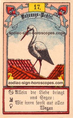 The stork, monthly Pisces horoscope April